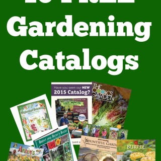 10 Free Vegetable Gardening Catalogs