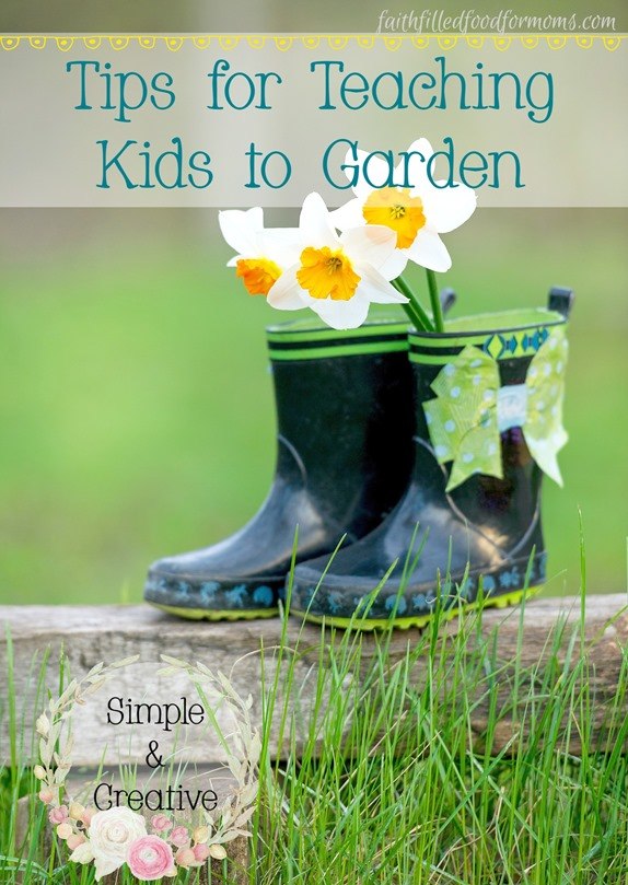 10 simple and creative tips for gardening with children 1
