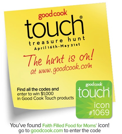 The GoodCook Touch Treasure Hunt has Started! + Giveaway!