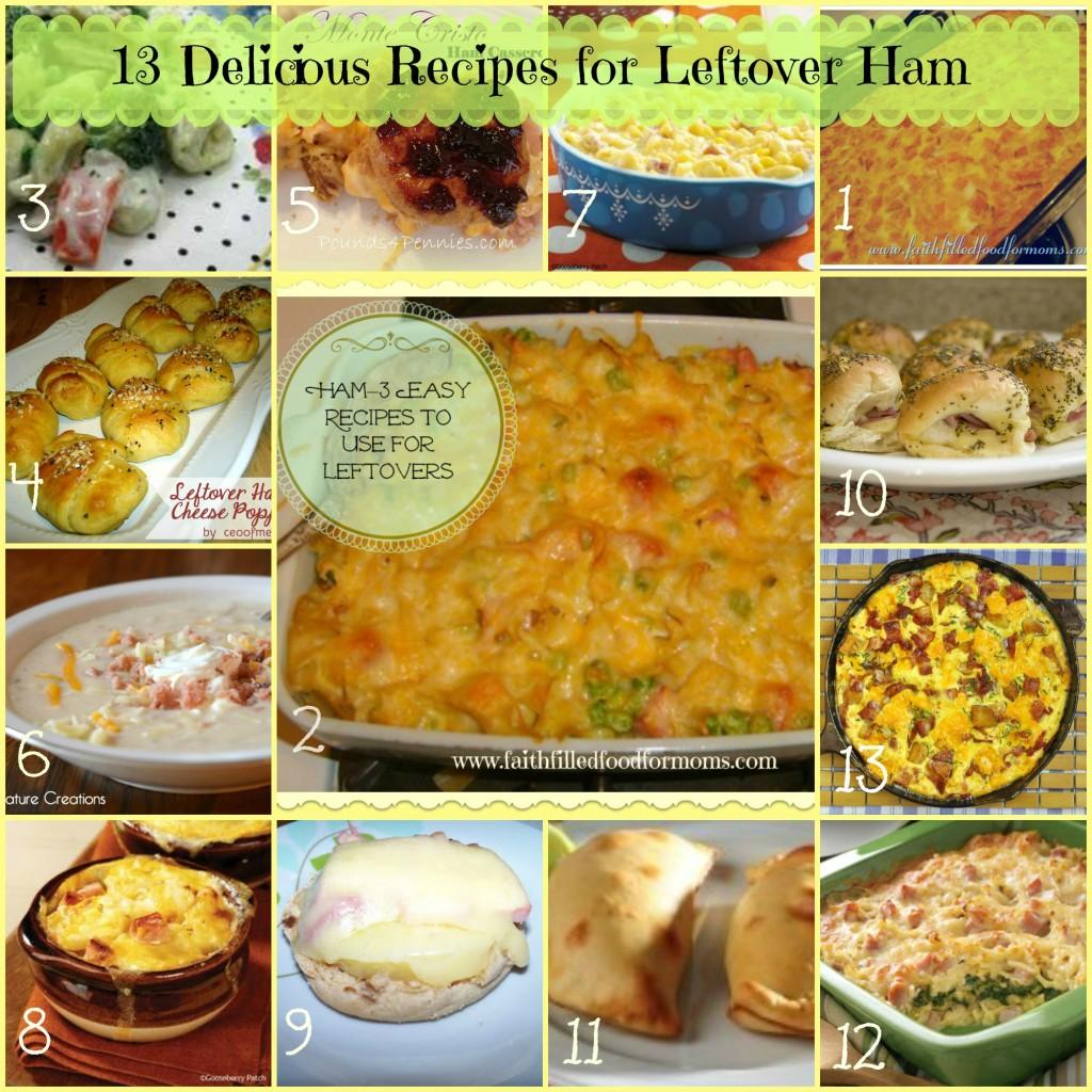 13 Delicious leftover Ham recipes
