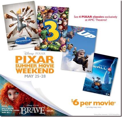 AMC Pixar Weekend Photo