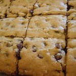 Chocolate Chip Blondies (Brownies)