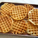 The Most Deelish Homemade Waffles!