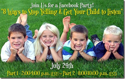 Facebook Party Yelling