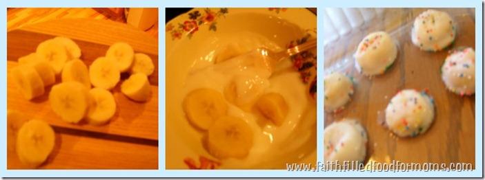 Banana Yogurt Bites
