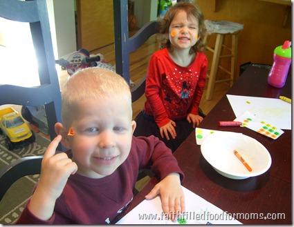 Preschool Learning Activity