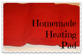 Homemade heating pad ~ add essential oils and herbs and wow..so nice and relaxing!