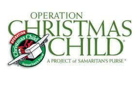 Operation Christmas Child #OCCGiving
