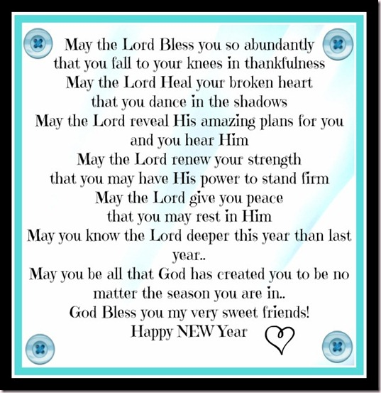 Blessings to You in 2013 • Faith Filled Food for Moms