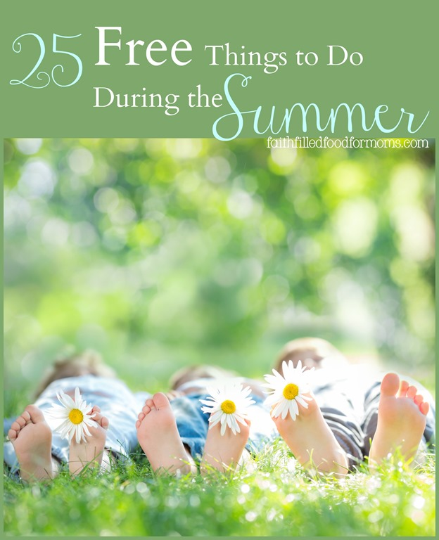 25 Free Things to Do During the Summer