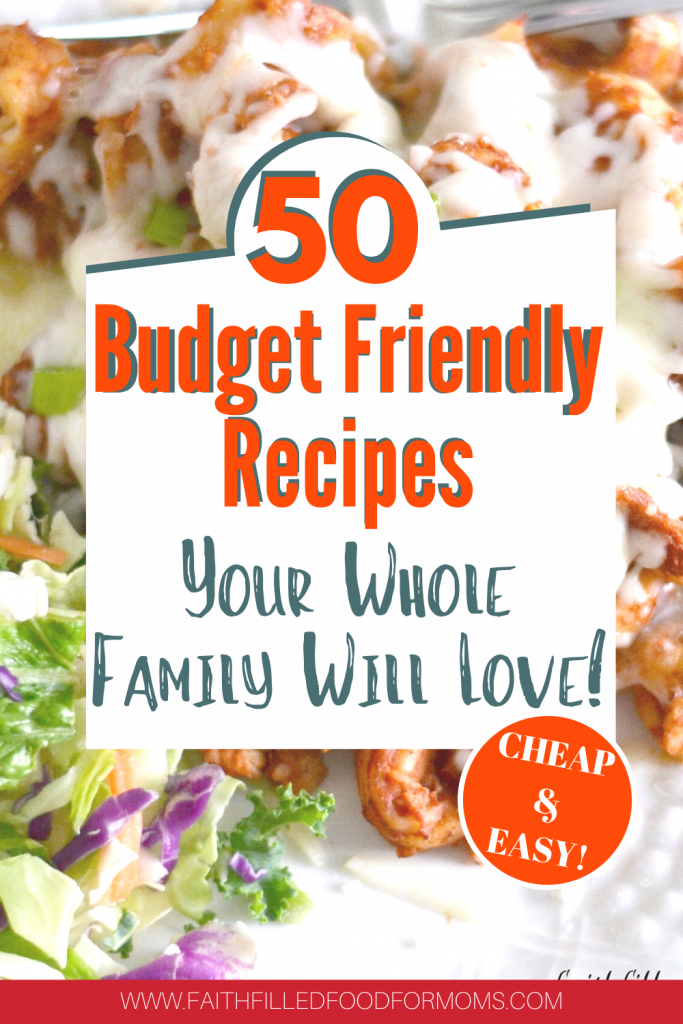 budget friendly meals for cheap