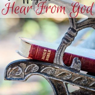 6 Ways to Hear From God