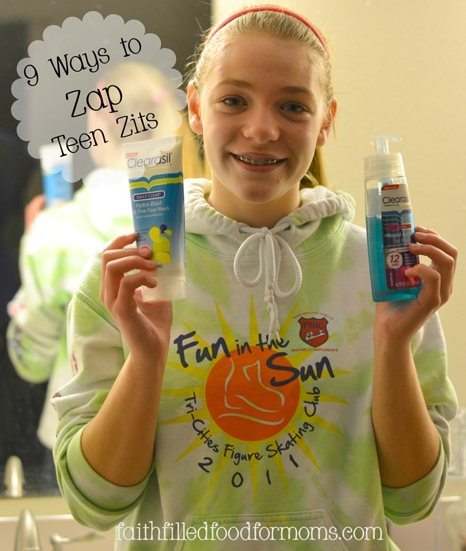 9 Ways to Zap Teen Zits #ClearasilMom #MC #sponsored