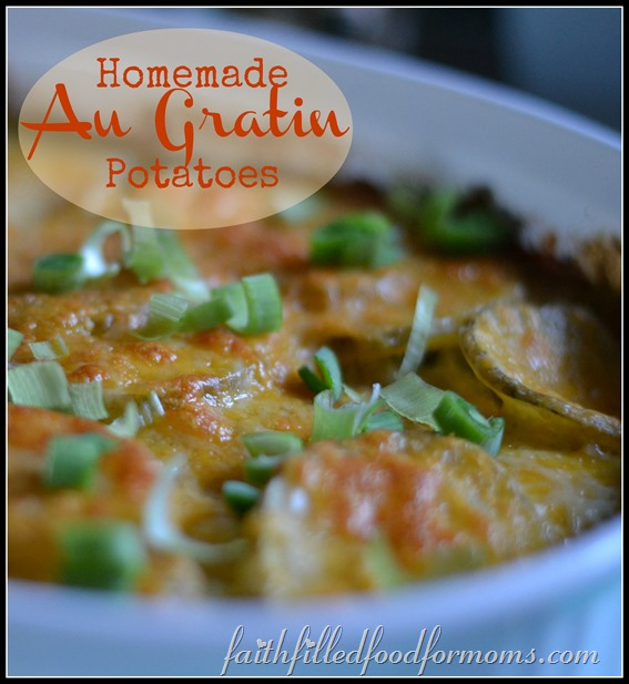 homemade au gratin potatoes