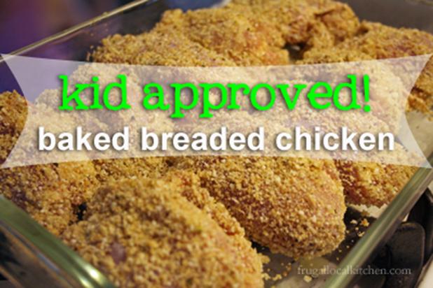 Baked Breaded Chicken