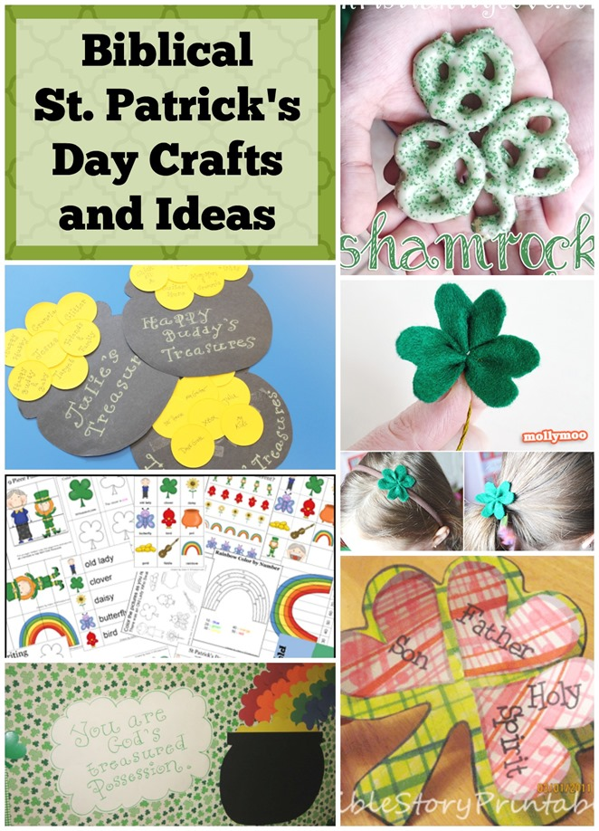 Biblical St Patricks Day Crafts And Ideas Faith Filled Food For Moms