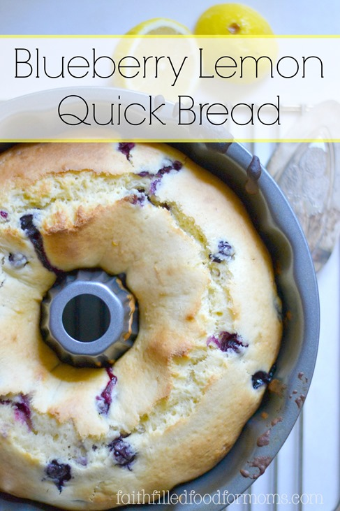 You may also love this Blueberry Lemon Quick Bread ..it's deelish!