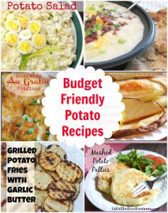 Budget Friendly Potato Recipes