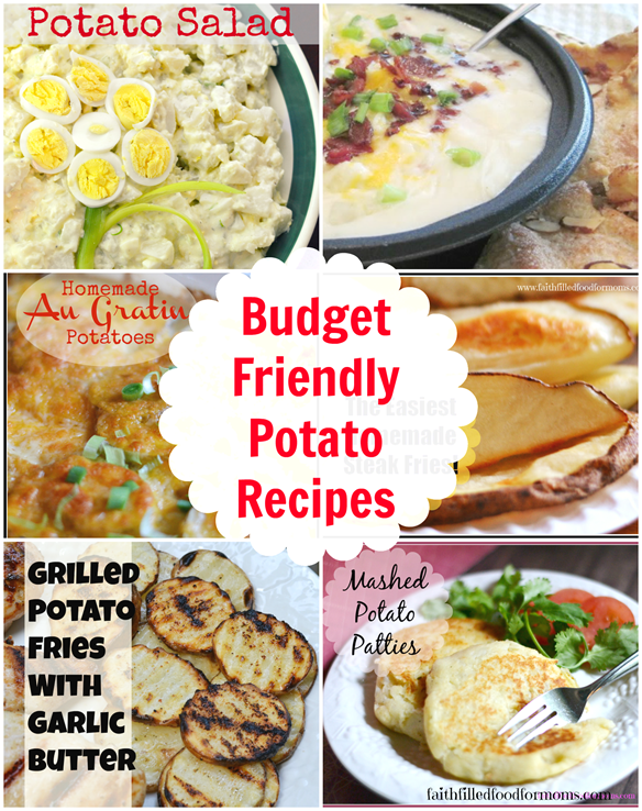 Easy Budget Friendly Spring Decorating: Budget-Friendly-Potato-Recipes.png • Faith Filled Food For