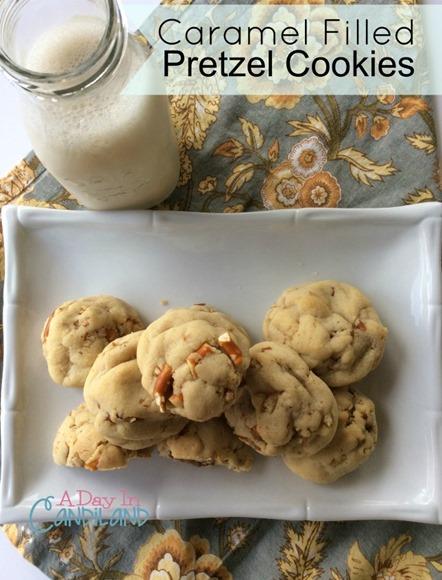 Caramel-filled-Pretzel-Cookies