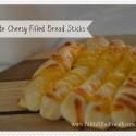 Homemade Cheesy Filled Breadsticks