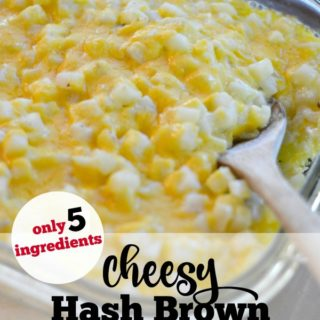 Cheesy Hash Brown Potato Casserole