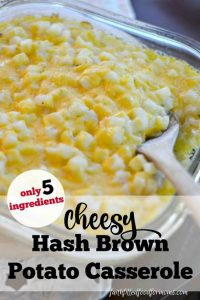 Yummy Cheesy Hash Brown Potato Casserole