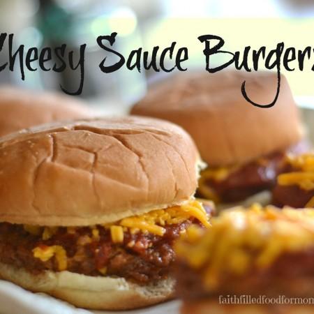 Cheesy-Sauce-Burgers