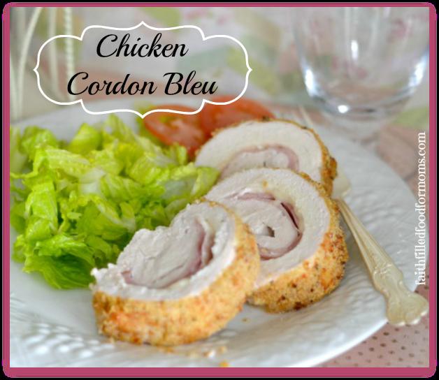Chicken Cordon Bleu Super Simple 5 Ingredients