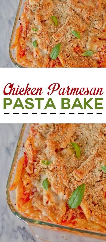 Chicken-Parmesan-Pasta-Bake