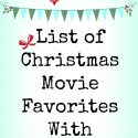 Best List of Christmas Movie Favorites With Reviews!
