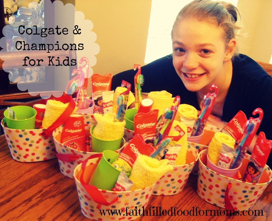 Colgate, Champions for Kids, #Colgate4Kids