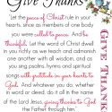 Colossians 3 15 Give Thanks