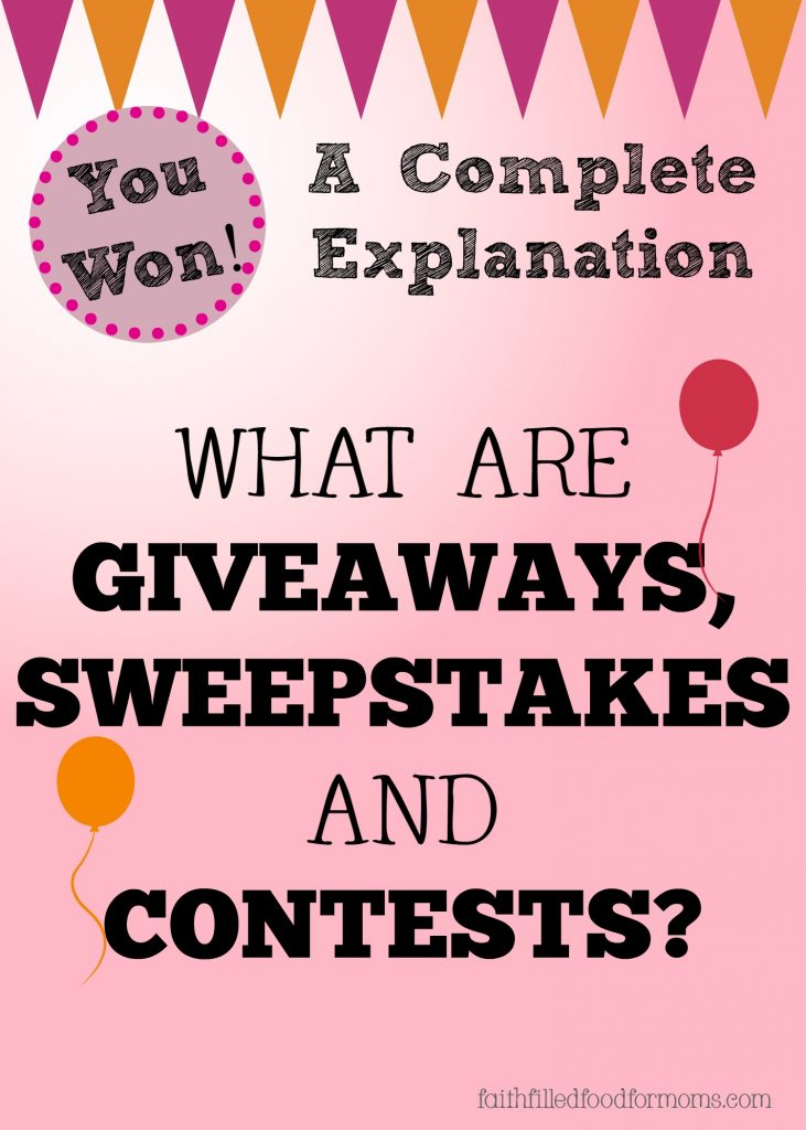 What are Giveaways and Contests