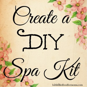 Create a DIY Spa Kit