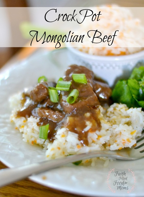 Crockpot Mongolian Beef Faith Filled Food for Moms