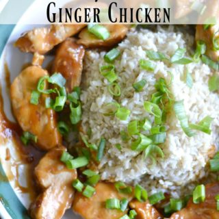 Crockpot Orange Ginger Chicken