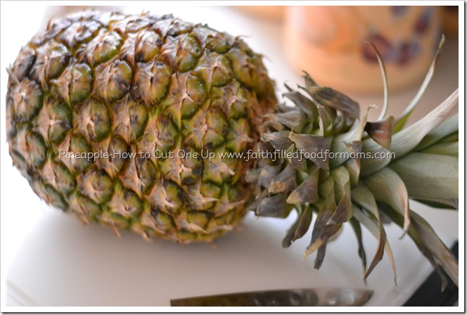 How to Cut Up a Pineapple and Pick One Out