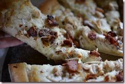 Homemade Chicken Bacon Ranch Pizza
