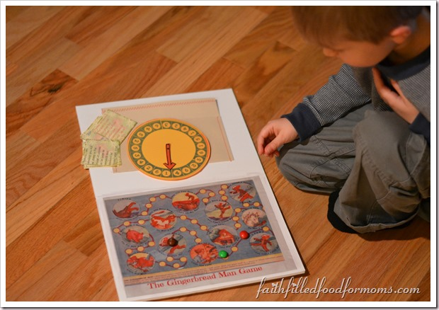 DIY Gingerbread Man Game for Gaining Wisdom #shop #HolidayMM