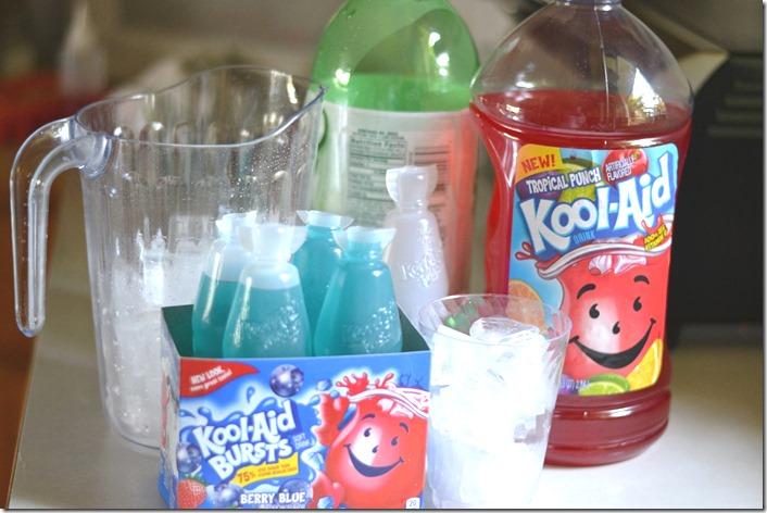 #KoolOff 4th of July Fruit Juice Splash #shop