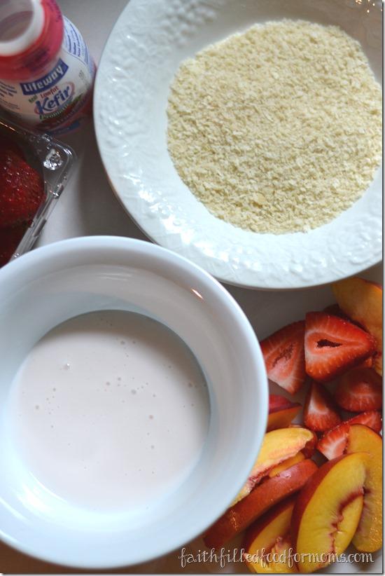 Fruity Lifeway Kefir Tart Recipe #KefirCreations #shop