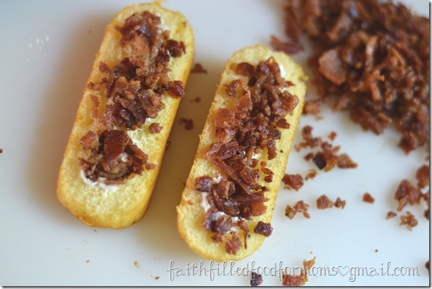 Loaded Bacon Twinkies #TwinkieCookbook #Sponsored #MC