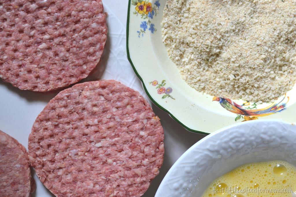 how to cook frozen hambirger patties.in oven