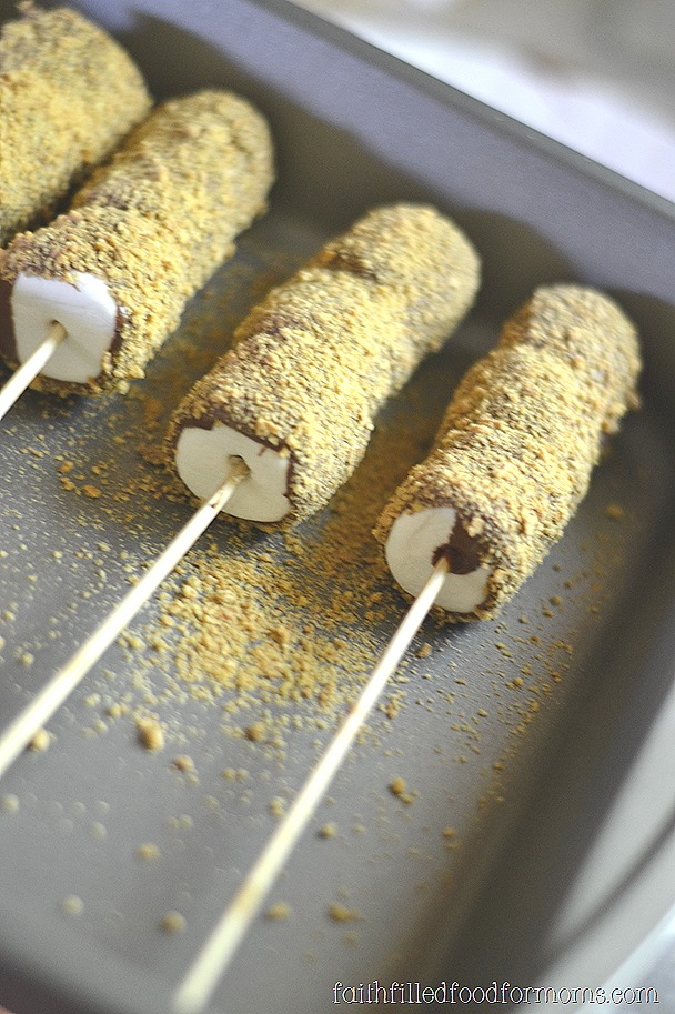 S'mores Kabobs on a stick