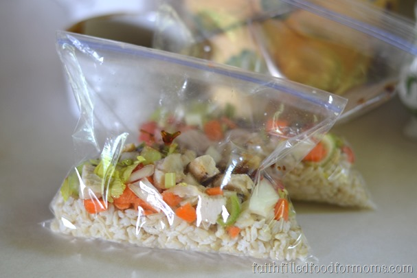 How To Make Healthy Chicken Teriyaki Rice Bowls to Freeze