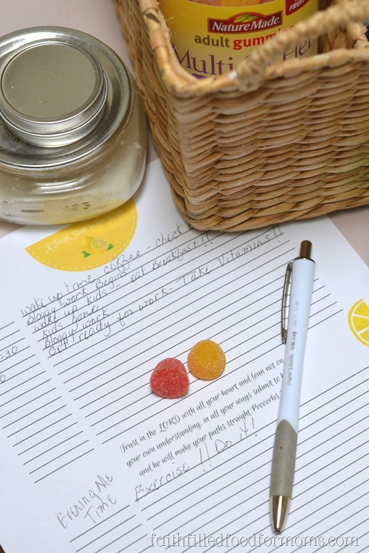 How to Create a Daily Routine w/Printable