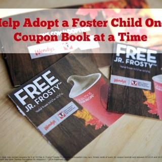 Help Adopt a Foster Child One Coupon Book at a Time