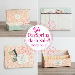 DaySpring $4 Flash Sale