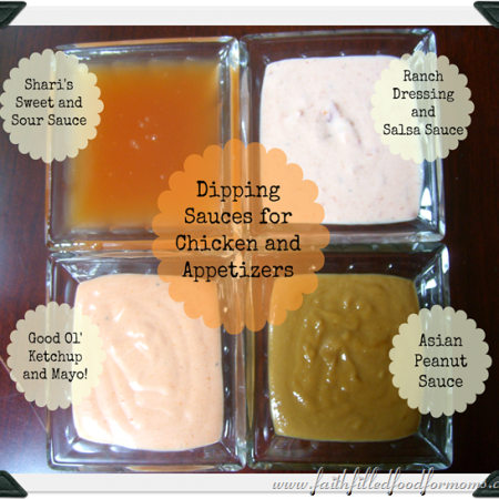 Dipping Sauces for Chicken
